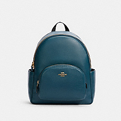 COACH 5666 Court Backpack IM/PEACOCK