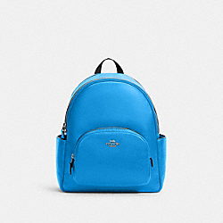 COACH 5666 Court Backpack SV/VIVID BLUE