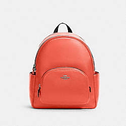 COURT BACKPACK - 5666 - SV/TANGERINE