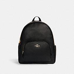 COACH 5669 Large Court Backpack IM/BLACK