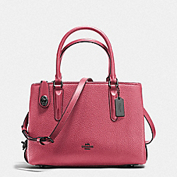 COACH 56839 - BROOKLYN CARRYALL 28 ROUGE/DARK GUNMETAL