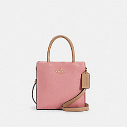 MINI CALLY CROSSBODY IN COLORBLOCK - IM/TAUPE MULTI - COACH 5691