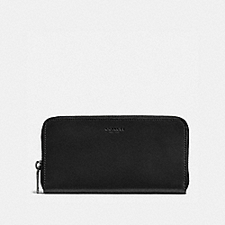 COACH 57098 Accordion Wallet BLACK