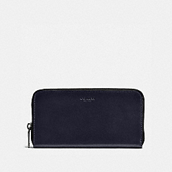 COACH 57098 Accordion Wallet MIDNIGHT