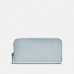 ACCORDION WALLET - PALE BLUE - COACH 57098