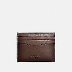 CARD CASE - 57101 - MAHOGANY