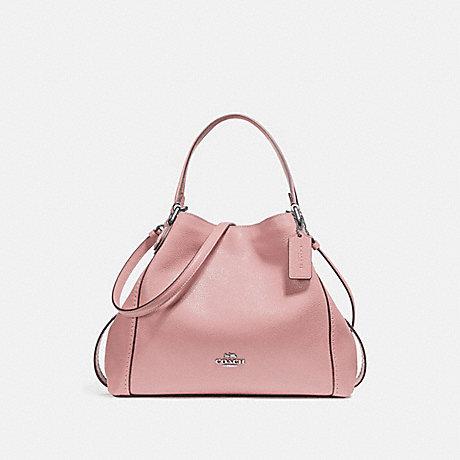 COACH EDIE SHOULDER BAG 28 - BLOSSOM/SILVER - 57124