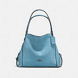COACH 57125 Edie Shoulder Bag 31 DK/CHAMBRAY
