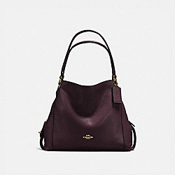 COACH 57125 Edie Shoulder Bag 31 LI/OXBLOOD