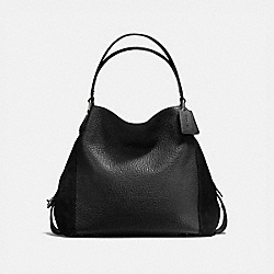 COACH 57647 Edie Shoulder Bag 42 DK/BLACK
