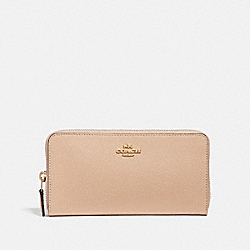 COACH 57713 - ACCORDION ZIP WALLET LI/BEECHWOOD