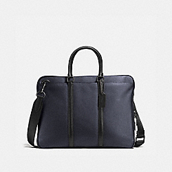 COACH 57781 - HARNESS METROPOLITAN SLIM BRIEF BK/MIDNIGHT BLACK