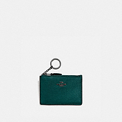 COACH 57841 - MINI SKINNY ID CASE V5/FOREST