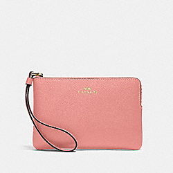 CORNER ZIP WRISTLET - 58032 - IM/LIGHT BLUSH