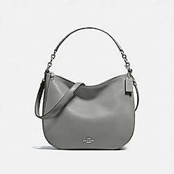 COACH 58036 - CHELSEA HOBO 32 DK/HEATHER GREY