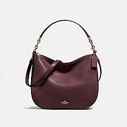 COACH 58036 - CHELSEA HOBO 32 LI/OXBLOOD