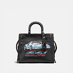 COACH 58151 - ROGUE WITH CAR BLACK/BLACK COPPER