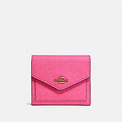 COACH 58298 - SMALL WALLET B4/CONFETTI PINK