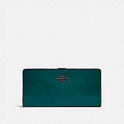 COACH 58586 - SKINNY WALLET V5/FOREST