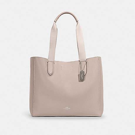 COACH 58660 DERBY TOTE SV/GREY-BIRCH-WINE