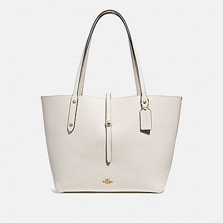 COACH 58849 MARKET TOTE CHALK/LIGHT-GOLD