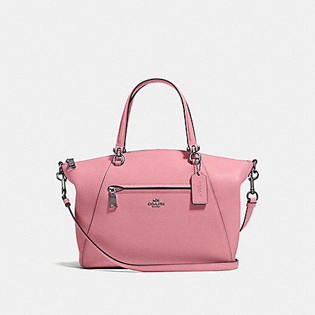 COACH 58874 PRAIRIE SATCHEL TRUE-PINK/GUNMETAL