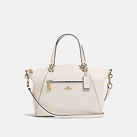 COACH 58874 PRAIRIE SATCHEL CHALK/LIGHT-GOLD