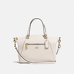 COACH 58874 Prairie Satchel CHALK/LIGHT GOLD