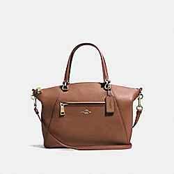 COACH 58874 - PRAIRIE SATCHEL 1941 SADDLE/LIGHT GOLD