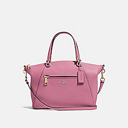 COACH 58874 - PRAIRIE SATCHEL ROSE/LIGHT GOLD