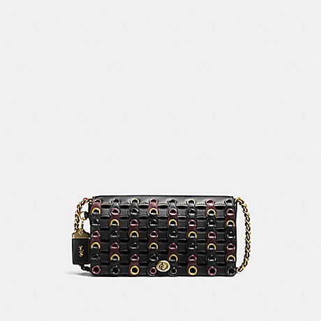 COACH 59126 DINKY WITH COACH LINK OL/BLACK-MULTI