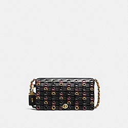 COACH 59126 Dinky With Coach Link OL/BLACK MULTI