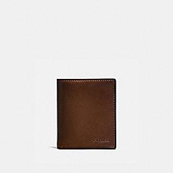 COACH 59671 - SLIM COIN WALLET DARK SADDLE