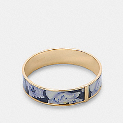 COACH 6007 - BANGLE WITH KAFFE FASSETT PRINT GD/BLUE MULTI