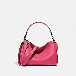 SHAY CROSSBODY - PEWTER/CONFETTI PINK - COACH 601