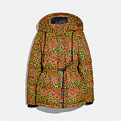 DISNEY MICKEY MOUSE X KEITH HARING WOVEN PUFFER - 6037 - MULTI