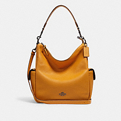COACH 6152 Pennie Shoulder Bag QB/YELLOW