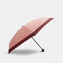 COACH 63365 Signature Mini Umbrella SV/CANDY PINK