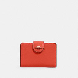COACH 6390 Medium Corner Zip Wallet IM/MANGO