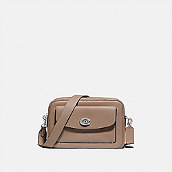 COACH 639 Cassie Camera Bag LH/TAUPE