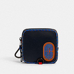 COACH 6529 - SQUARE HYBRID POUCH QB/BLUE MULTI