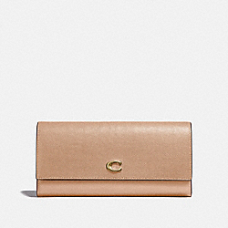 COACH 66570 - ENVELOPE WALLET BEECHWOOD/BRASS