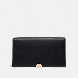 COACH 66615 - DREAMER WALLET BLACK/GOLD