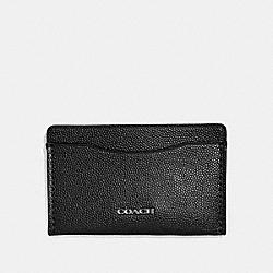 COACH 66831 Small Card Case BLACK