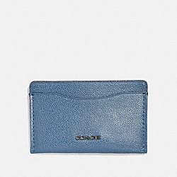 COACH 66831 - SMALL CARD CASE LIGHT DENIM