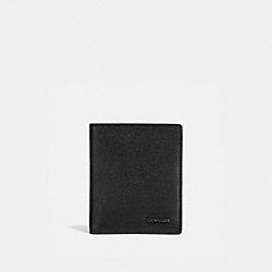 COACH 66833 Slim Wallet BLACK