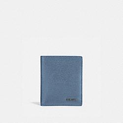 COACH 66833 Slim Wallet LIGHT DENIM