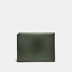 COACH 66850 Trifold Card Wallet OLIVE