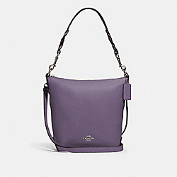 COACH 67025 - MINI ABBY DUFFLE SV/DUSTY LAVENDER