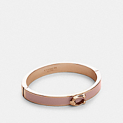 COACH 67480 - SIGNATURE PUSH HINGED BANGLE RS/BLOSSOM
